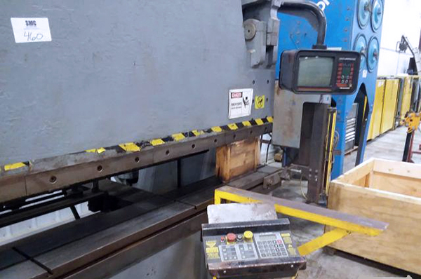 Used Hydraulic Press Brake Accurpress 732012 1996