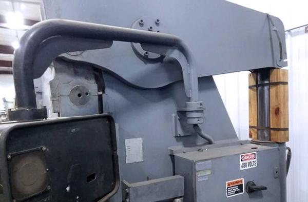 Used Hydraulic Press Brake Accurpress 732012 1996