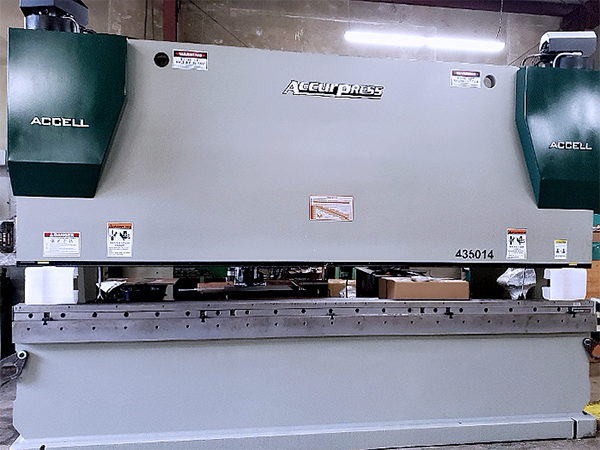 Used Hydraulic Press Brake Accurpress ACCELL 435014 2015