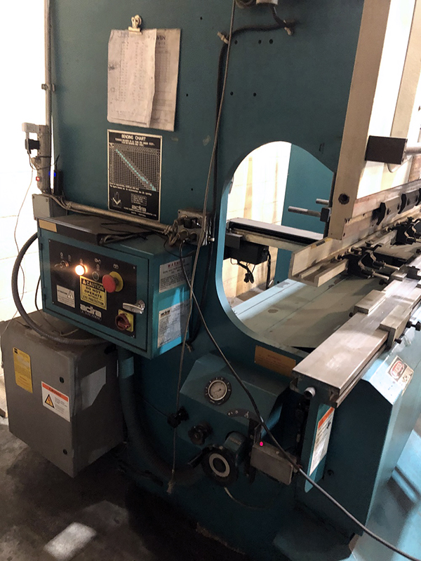 Used Hydraulic Press Brake Adira QHA-6325 1997