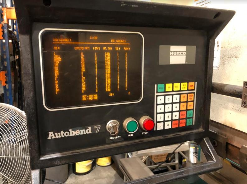 Used Hydraulic Press Brake Adira QHA-6325 1997