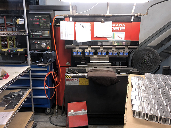 Used Hydraulic Press Brake Amada FBD-3512E 1995
