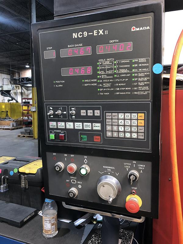 Used Hydraulic Press Brake Amada FBD-3512E 1995