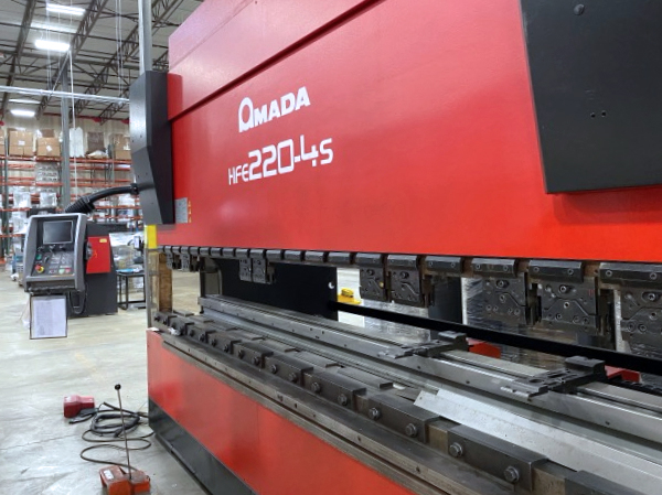 Used Hydraulic Press Brake Amada HFE 220-4S 2003