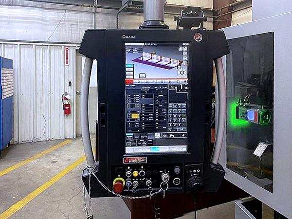 Used Hydraulic Press Brake Amada HG 2204 ATC 2016