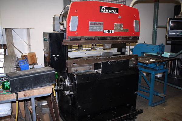 Used Hydraulic Press Brake Amada RG 25 1980