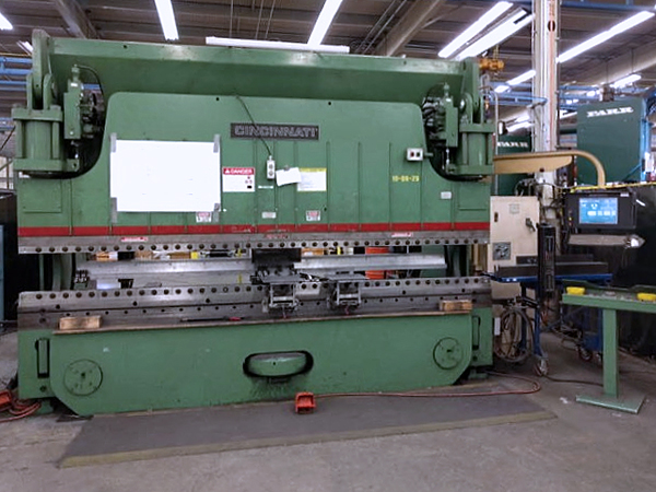 Used Hydraulic Press Brake Cincinnati Autoform 230 AF 12 1990