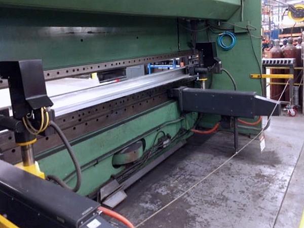 Used Hydraulic Press Brake Cincinnati Autoform 230 AF 12 1990