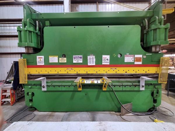 Used Hydraulic Press Brake Cincinnati CB350 x 12 1977