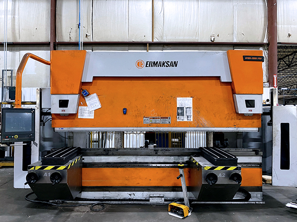 Used Hydraulic Press Brake ERMAKSAN Speed-Bend Pro 3760-220 2017
