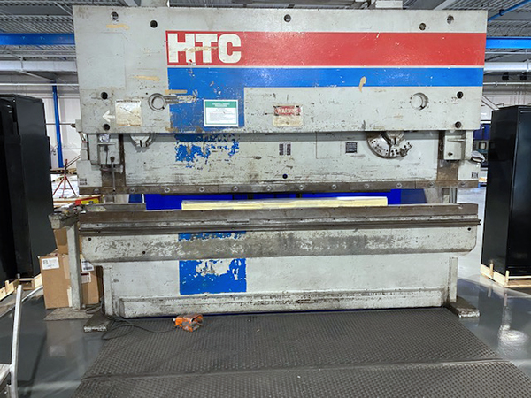 Used Hydraulic Press Brake HTC 200-12PB 1992