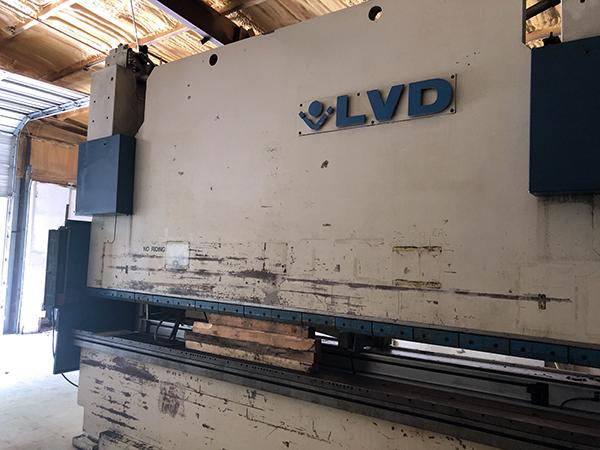 Used Hydraulic Press Brake LVD PPEB 320/45 1997