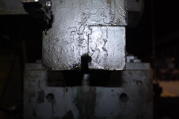 Used Hydraulic Press Brake Pacific 1250-14 1968