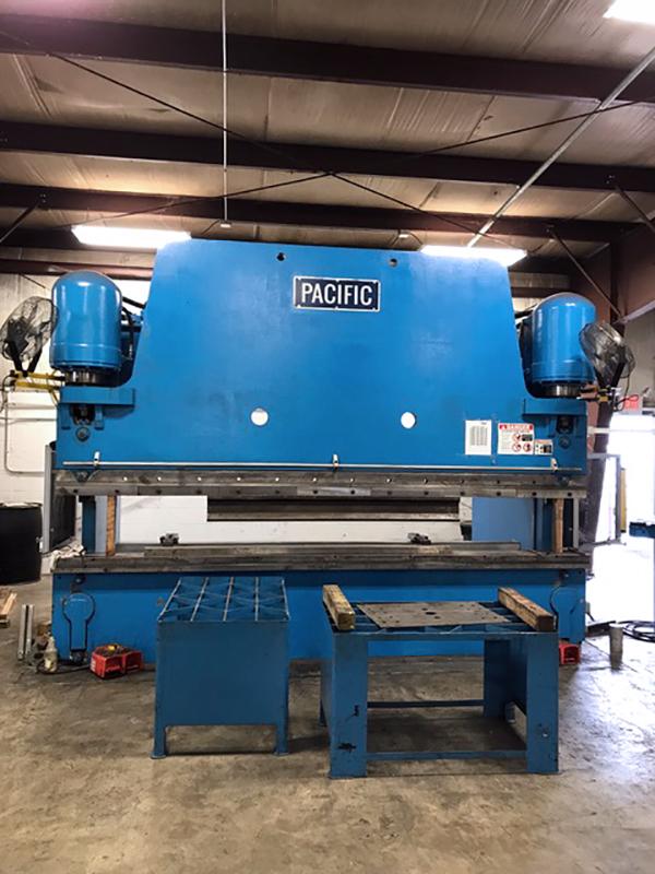 Used Hydraulic Press Brake Pacific CK 400-14 Rebuilt 2016