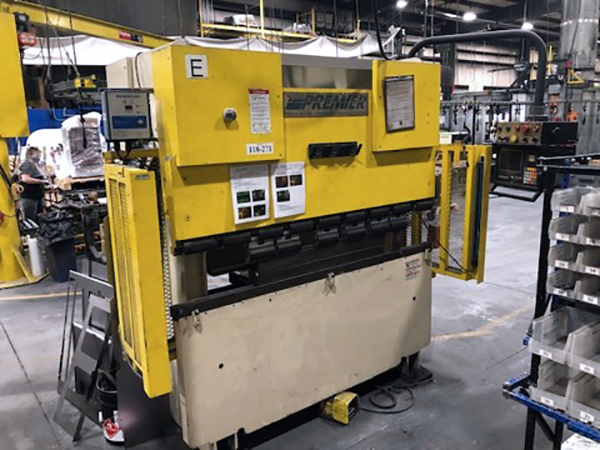 Used Hydraulic Press Brake Premier 670-2 1999