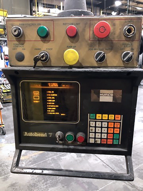 Used Hydraulic Press Brake Premier 670-2 1999