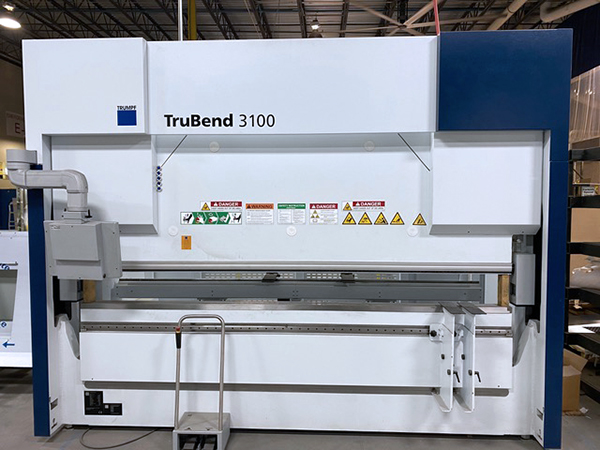 Used Hydraulic Press Brake Trumpf Trubend 3100 2019