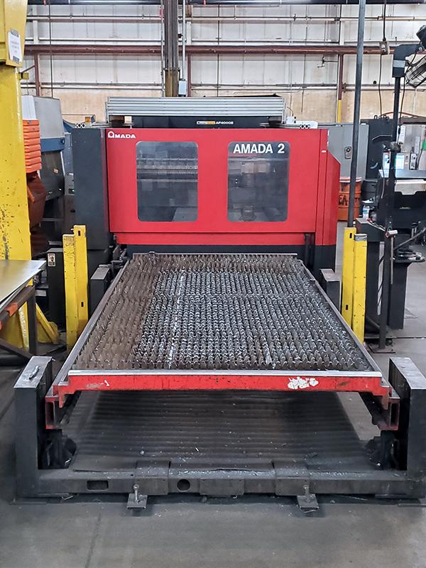 Used Laser Cutting Machine Amada FO3015NT 4000 Watt 2007