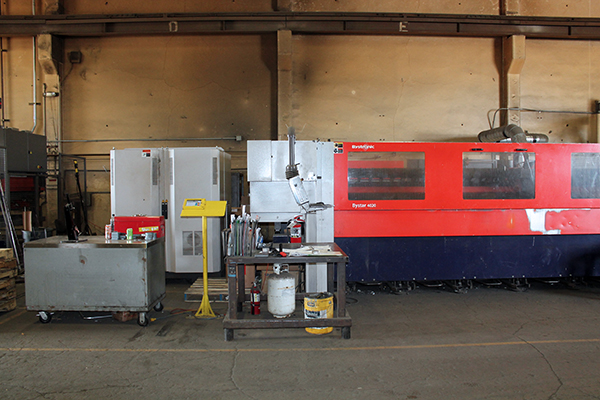 Used Laser Cutting Machine Bystronic ByStar 4020 2011