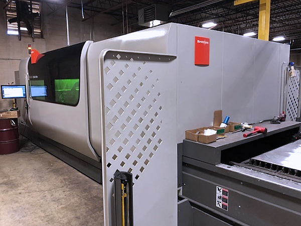 Used Laser Cutting Machine Bystronic ByStar Fiber 3015 (Dynamic Edition) 2017