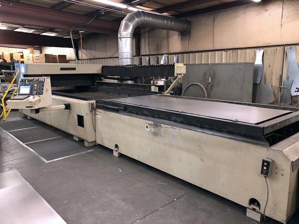 Used Laser Cutting Machine Cincinnati CL-6 2001