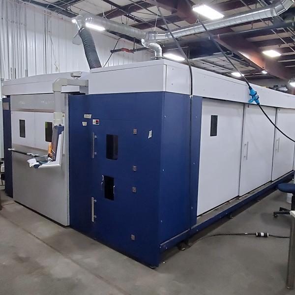Used Laser Cutting Machine HSG G3015/60T 2018