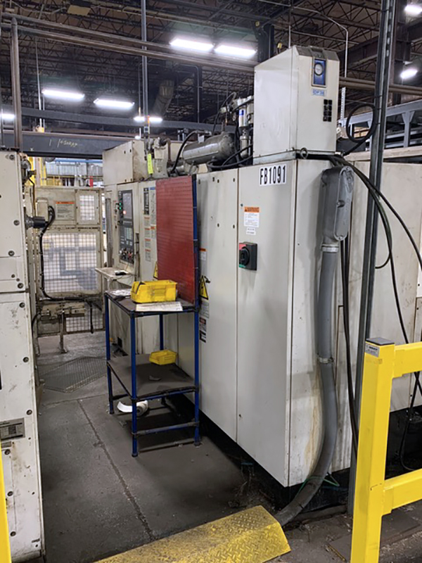Used Laser Cutting Machine Mazak Hyper turbo X510 2010