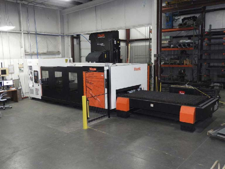 Used Laser Cutting Machine Mazak Nexus 3015 2015