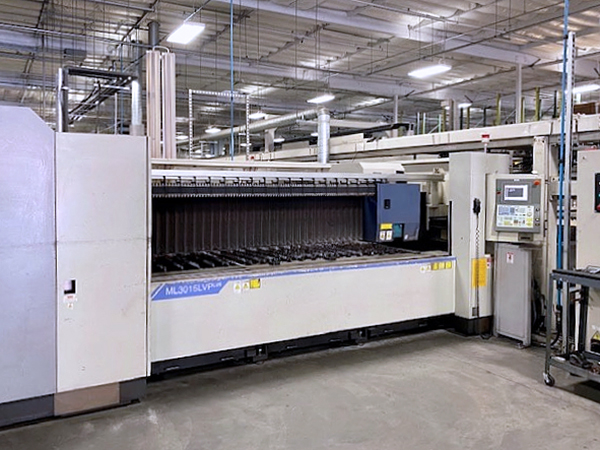 Used Laser Cutting Machine Mitsubishi ML3015 LVPLUS 2007