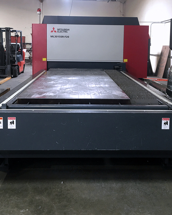 Used Laser Cutting Machine Mitsubishi ML3015 SR-F20 2018