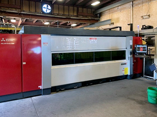 Used Laser Cutting Machine Mitsubishi ML3015 eX-F80 2018