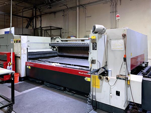Used Laser Cutting Machine Mitsubishi ML 3015 LVPLUS 2010