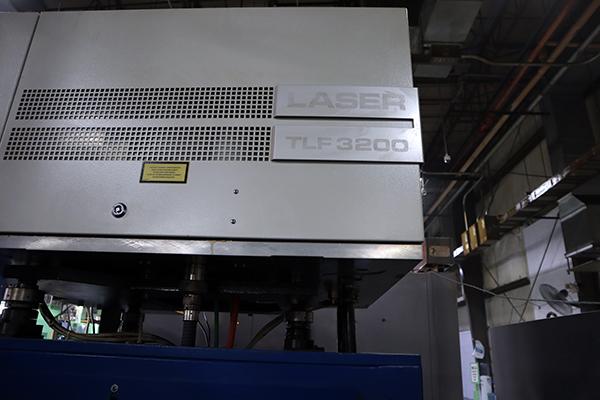 Used Laser Cutting Machine Trumpf TLF 3200TM 2004