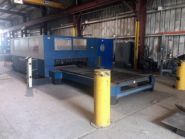 Used Laser Cutting Machine Trumpf TRUMATIC L3030 4KW CO2 2004