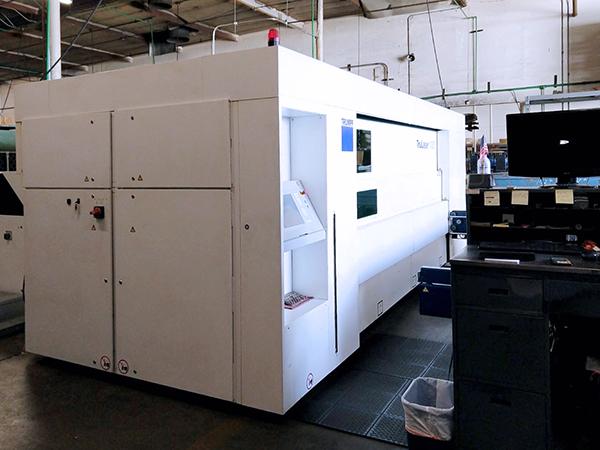 Used Laser Cutting Machine Trumpf TruLaser 1030 Fiber 2013