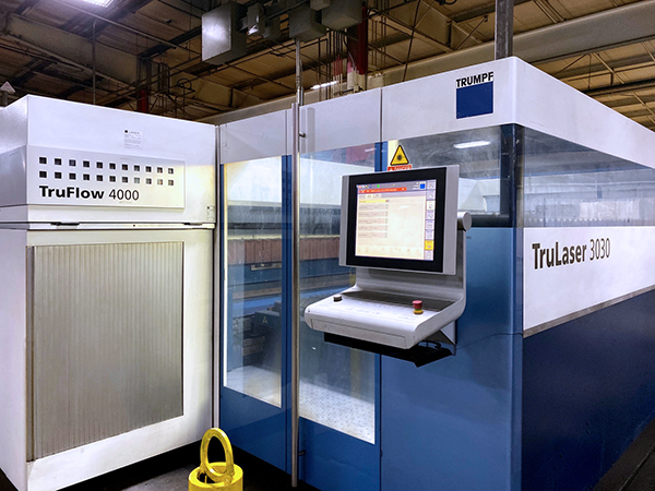 Used Laser Cutting Machine Trumpf TruLaser 3030 2011