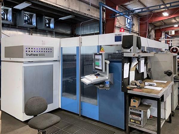 Used Laser Cutting Machine Trumpf Trulaser 3030 2011