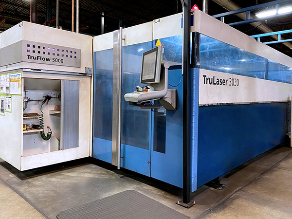 Used Laser Cutting Machine Trumpf Trulaser 3030 2009