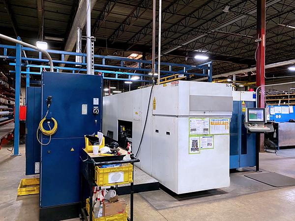 Used Laser Cutting Machine Trumpf Trulaser 3030 2009