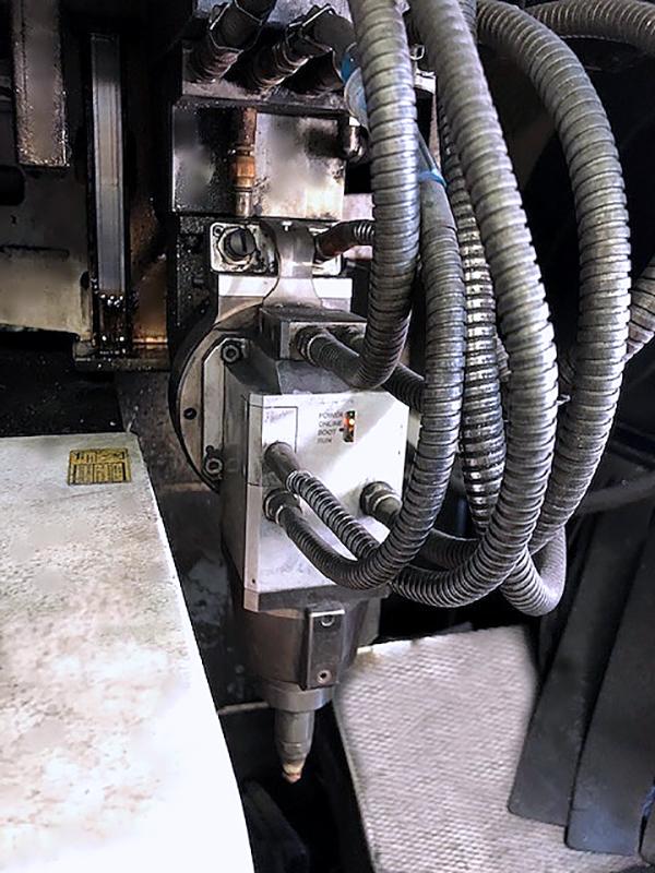 Used Laser Cutting Machine Trumpf Trulaser Tube 7000 2010