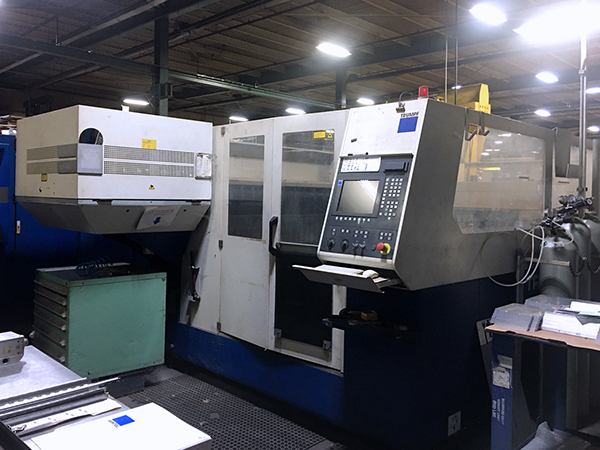 Used Laser Cutting Machine Trumpf Trumatic 3030 2006