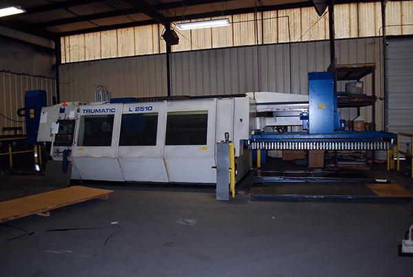 Used Laser Cutting Machine Trumpf Trumatic L2510 2006