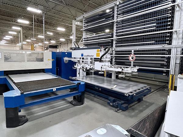 Used Laser Cutting Machine Trumpf Trumatic L3030 3.2KW 2002