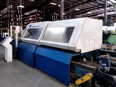 Used Laser Cutting Machine Trumpf Tubematic 3200 2005