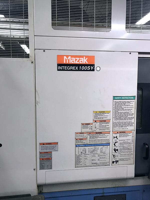 Used Multi Axis CNC Lathe Mazak Integrex 100SY 2001