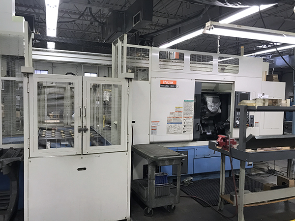 Used Multi Axis CNC Lathe Mazak Integrex 100SY 2001