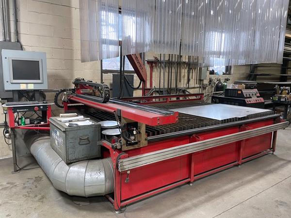Used Plasma Cutting Machine Kaliburn proline 2150