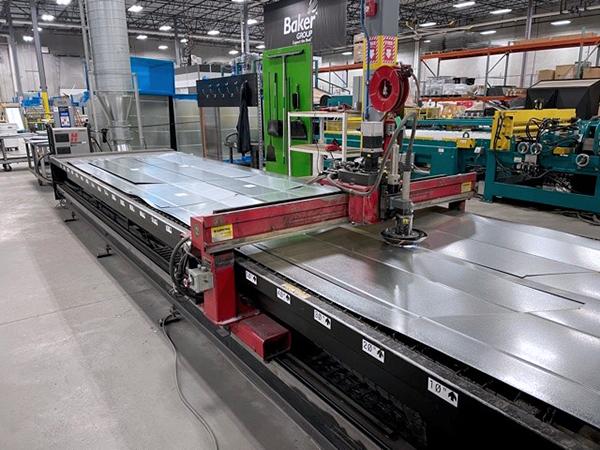 Used Plasma Cutting Machine Koike Aronson DM520 2000