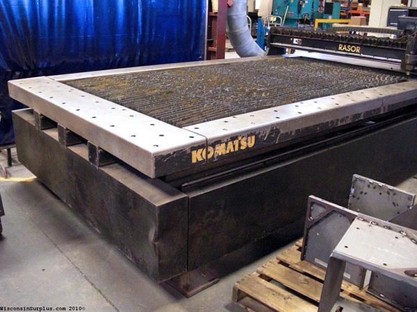 Used Plasma Cutting Machine Komatsu KCR-0451 Rasor
