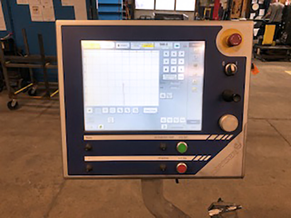 Used Plasma Cutting Machine Messer MMPLUS 2008